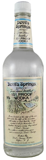 Devil's Springs Vodka 151 Proof 1.00l